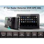 "GPS 7"" ANDROID,WIFI,DETECTOR RADAR,DVR,IGO TRUCK MAP 2018"